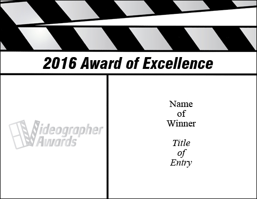 2016 Certificate Excellence